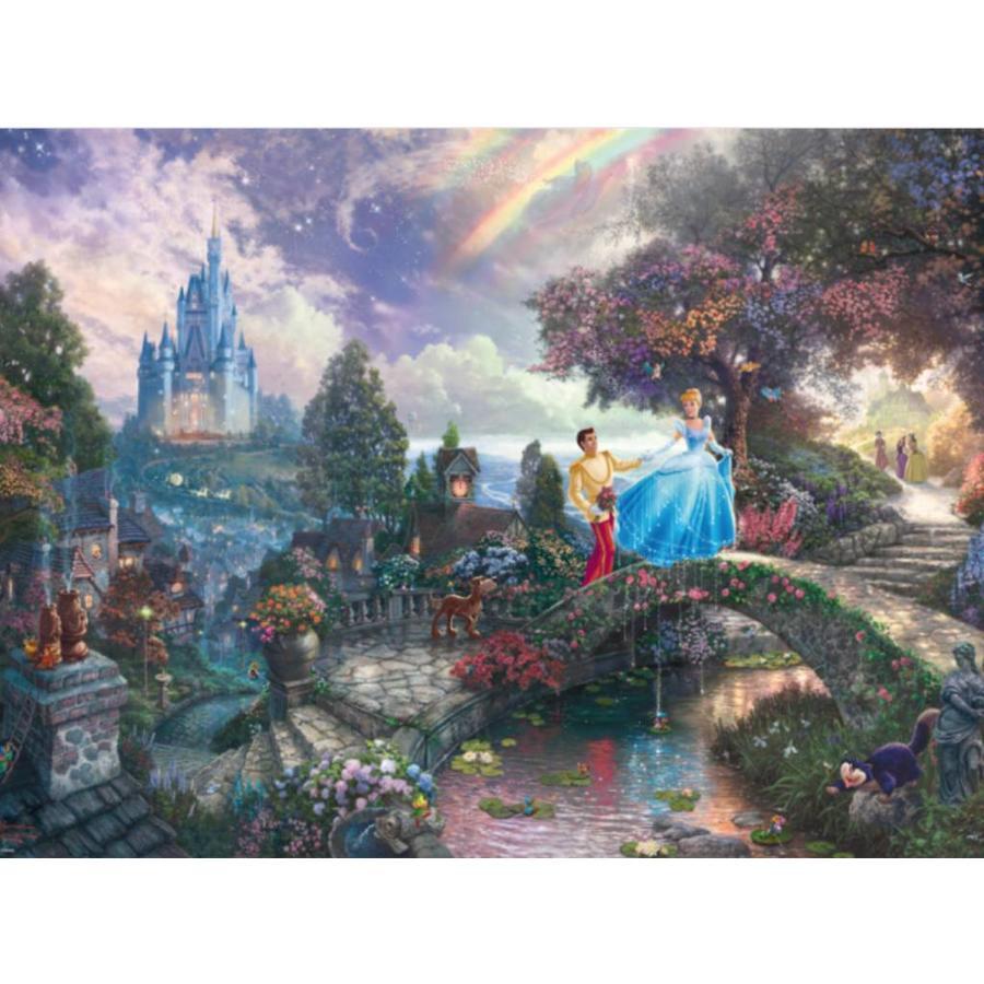 Cendrillon - Thomas Kinkade - puzzle de 1000 pièces-1