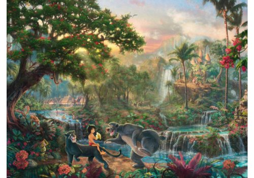 Schmidt Jungleboek - Thomas Kinkade - 1000 stukjes