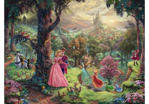 La Belle au bois dormant - Thomas Kinkade - 1000 pièces