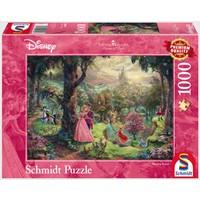thumb-La Belle au bois dormant - Thomas Kinkade - puzzle de 1000 pièces-2
