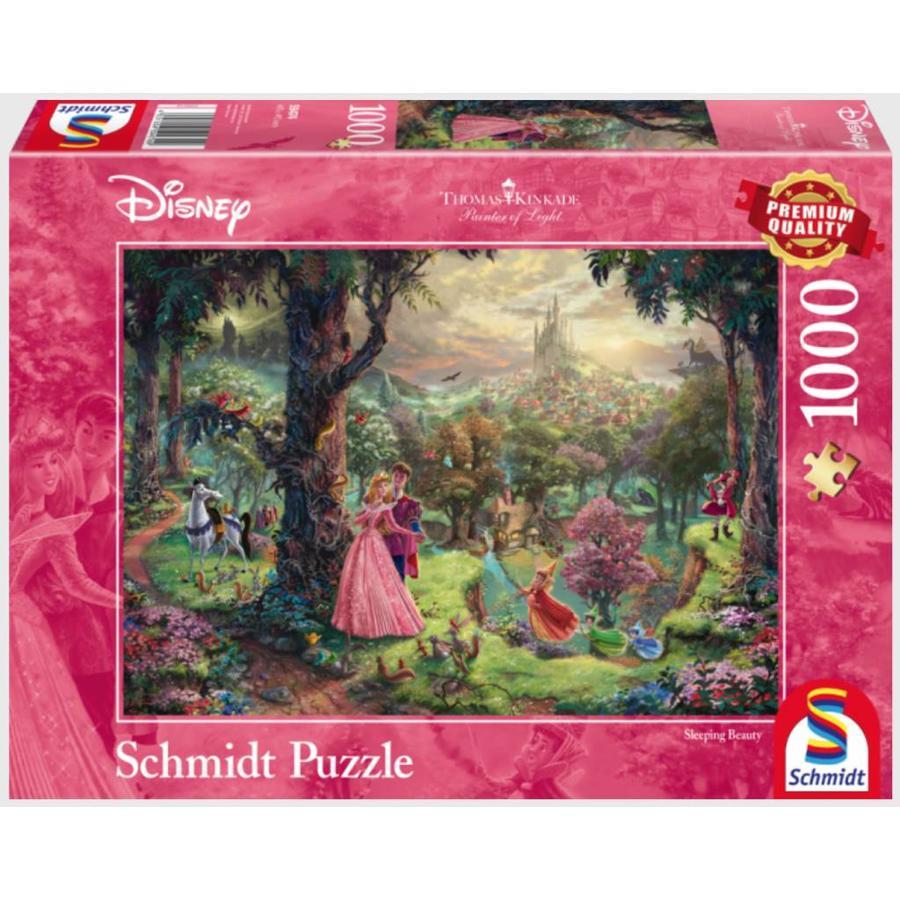 La Belle au bois dormant - Thomas Kinkade - puzzle de 1000 pièces-2