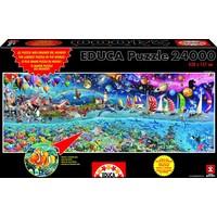 thumb-pièces de puzzle 24000 - Life-2
