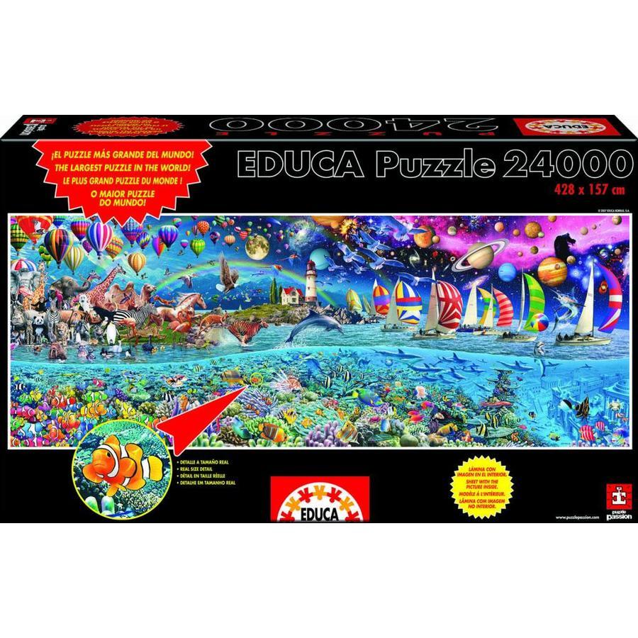 pièces de puzzle 24000 - Life-2