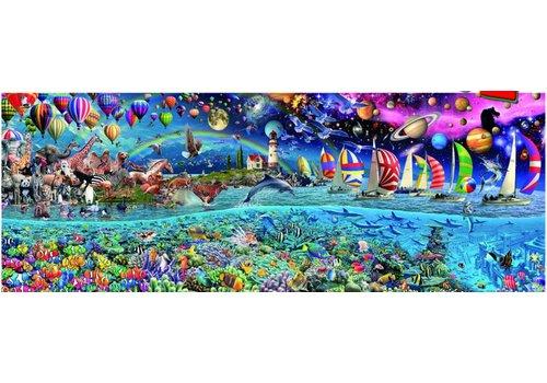 Het leven - puzzel 24000 stukjes