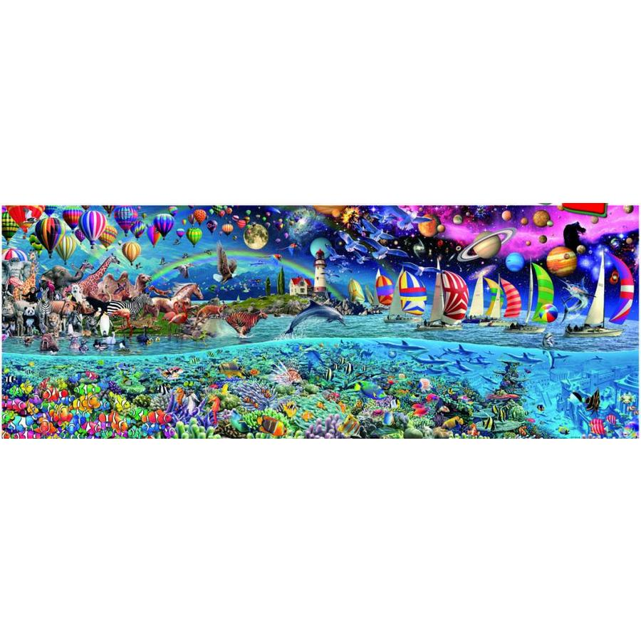 pièces de puzzle 24000 - Life-1