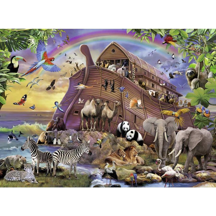 Onderweg met de ark - puzzel van 150 stukjes-1