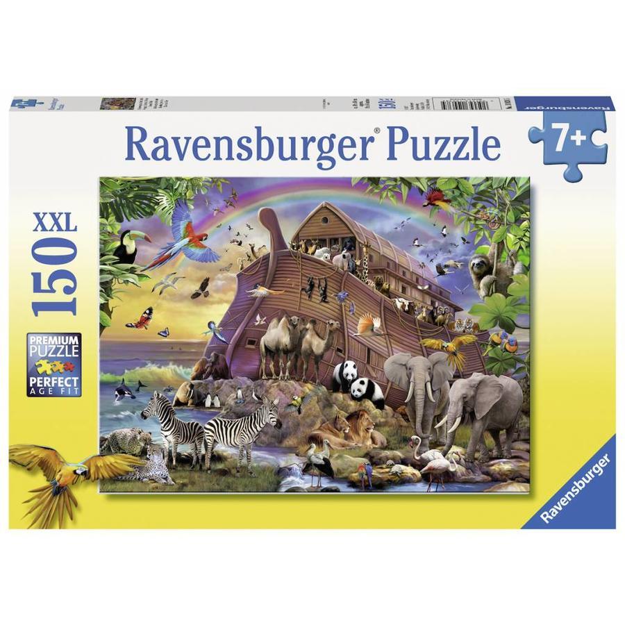 Onderweg met de ark - puzzel van 150 stukjes-2