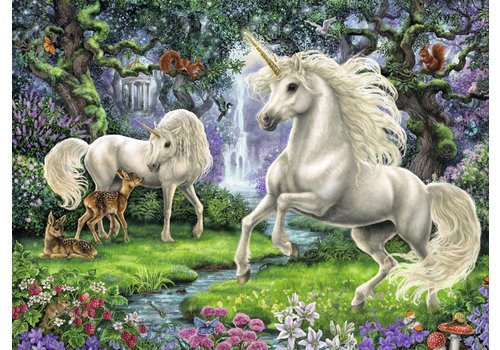 Ravensburger Mystical Unicorns - 200 pieces
