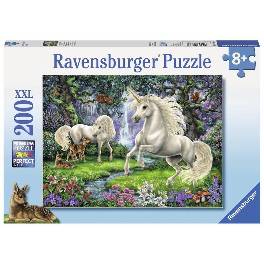 Sprookjesachtige eenhoorns - kinderpuzzel van 200 stukjes-2