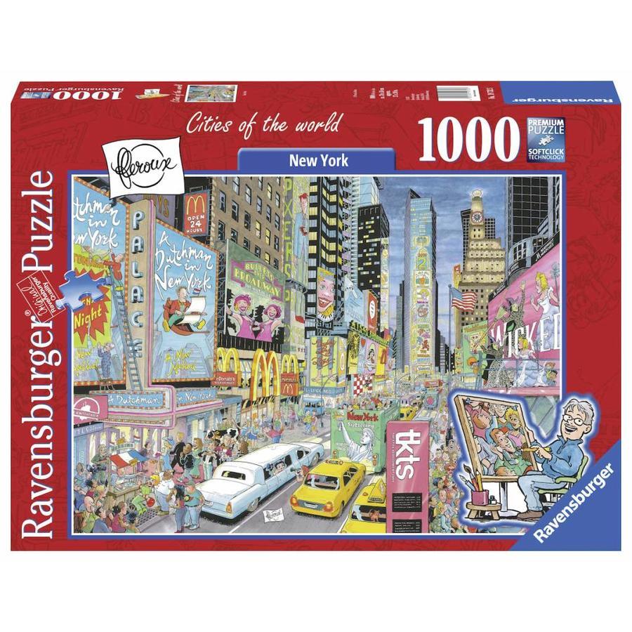 New York -Fleroux -  1000 pièces-1