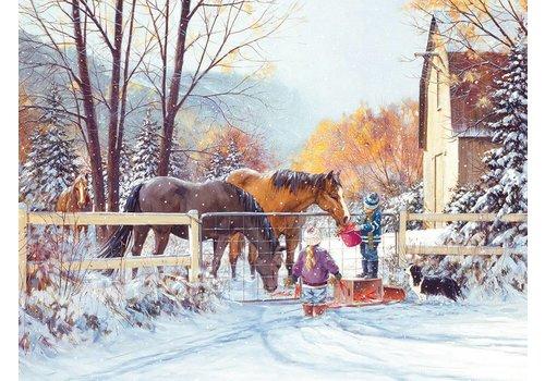 La première neige - 275 pièces XXL