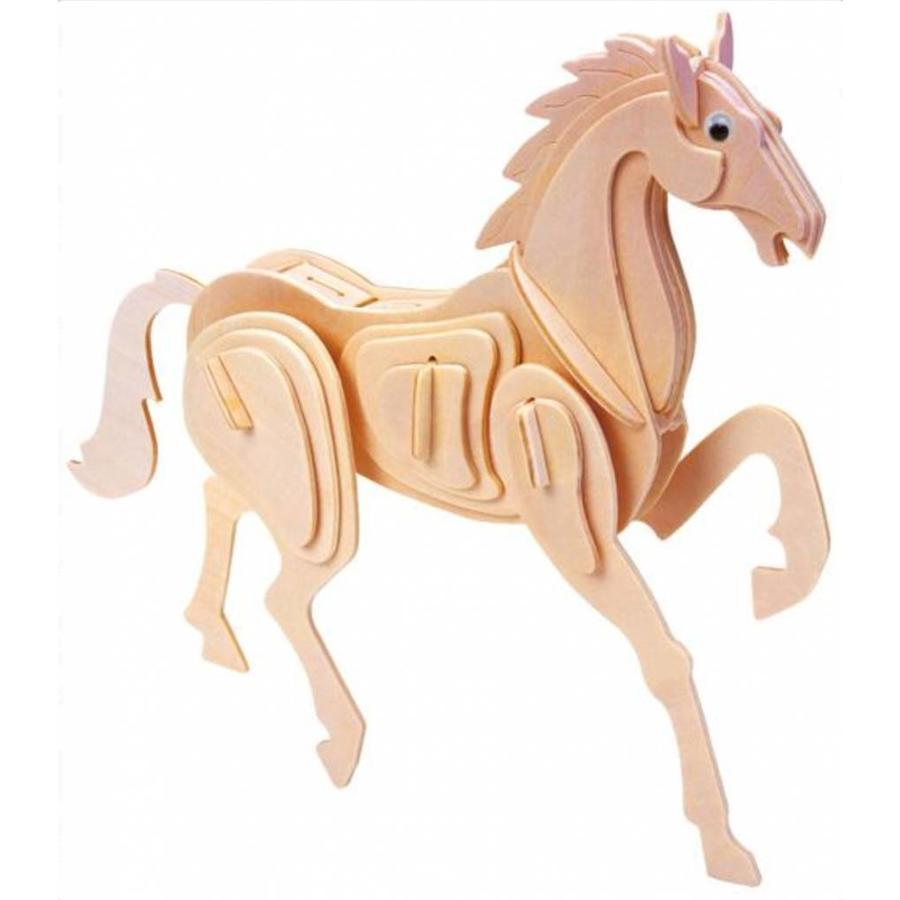 Paard- Gepetto's Workshop - 3D puzzel in hout-1