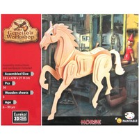 thumb-Paard- Gepetto's Workshop - 3D puzzel in hout-2
