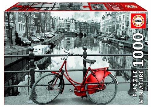 Miniatuur puzzel - Amsterdam - 1000 stukjes