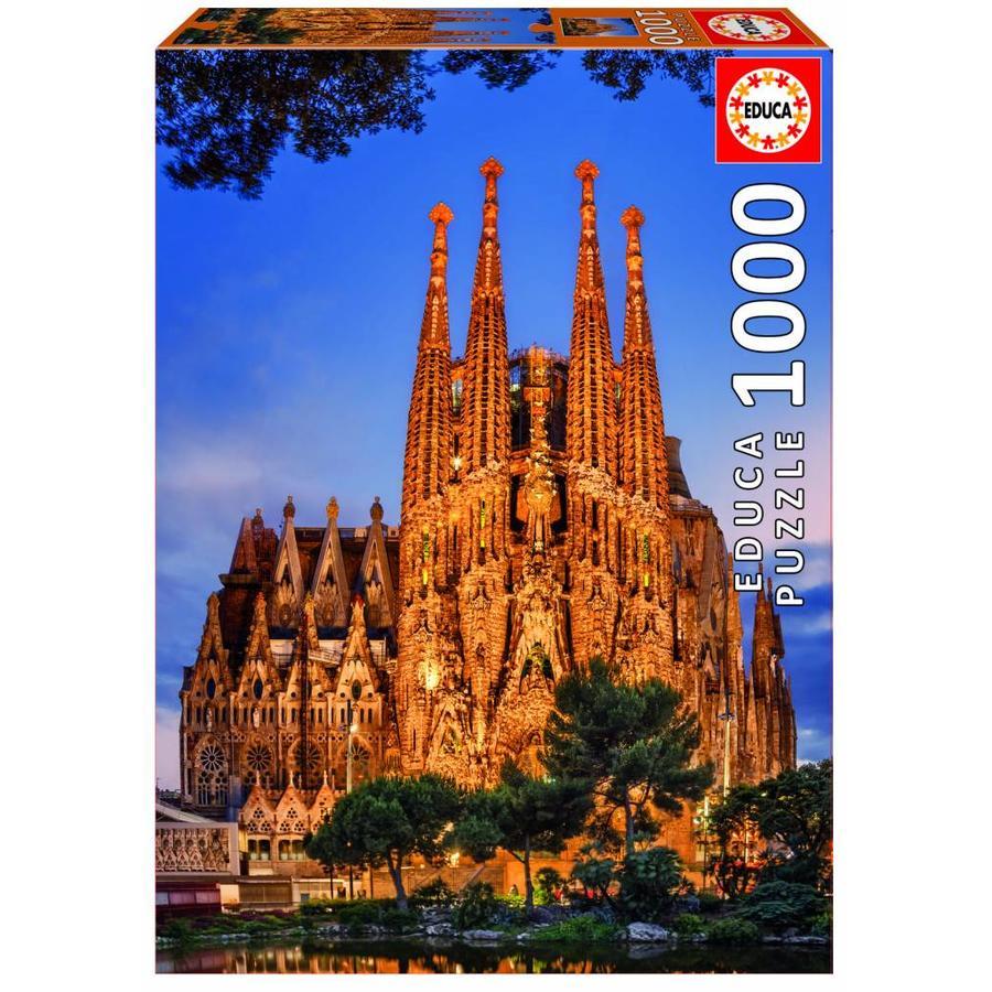 Sagrada Familia - 1000 pieces-2