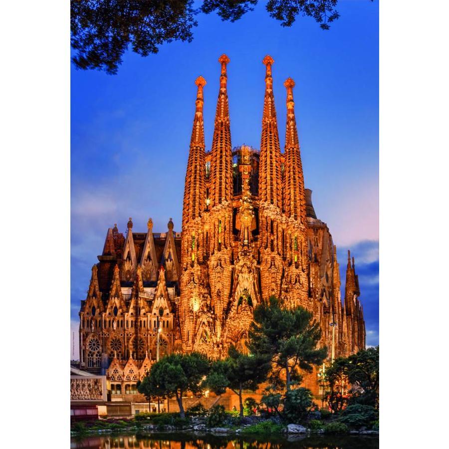 Sagrada Familia - 1000 pieces-1