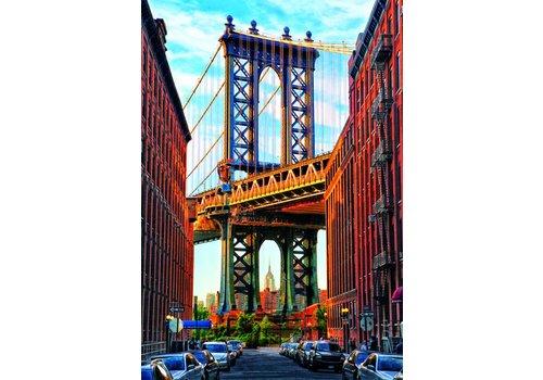 Manhattan brug in New York - 1000 stukjes