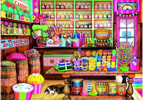 La boutique de bonbons - 1000 pièces