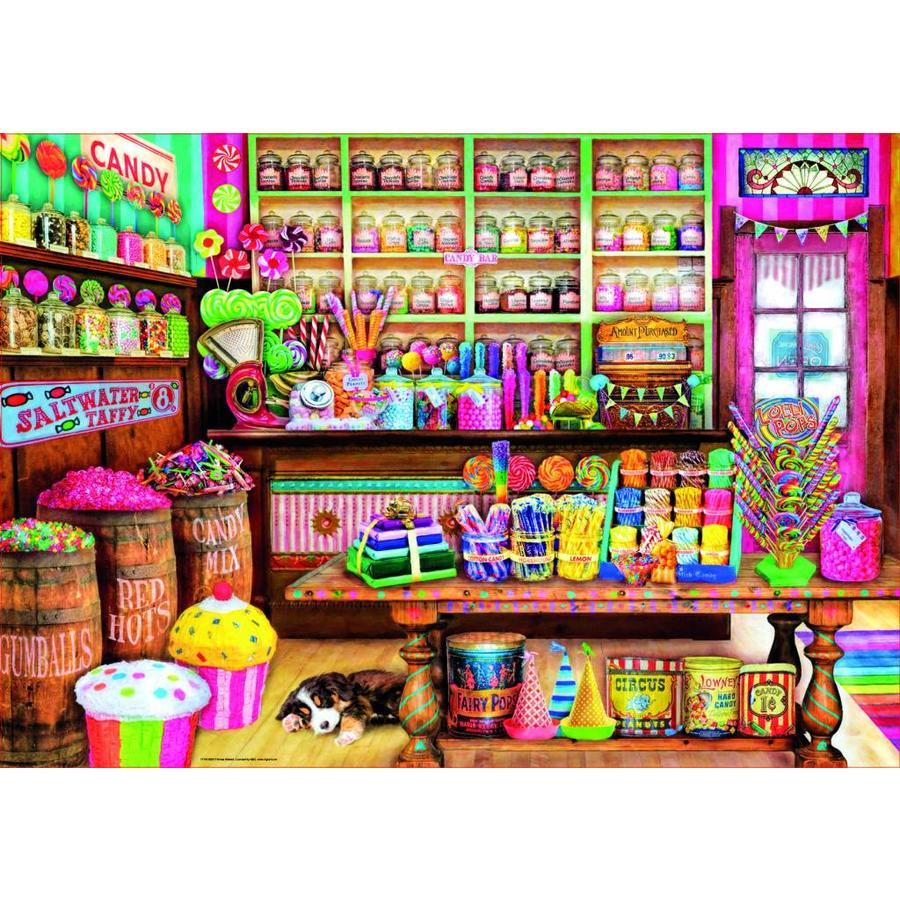 De snoepwinkel - puzzel van 1000 stukjes-1
