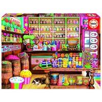 thumb-La boutique de bonbons - puzzle de 1000 pièces-2