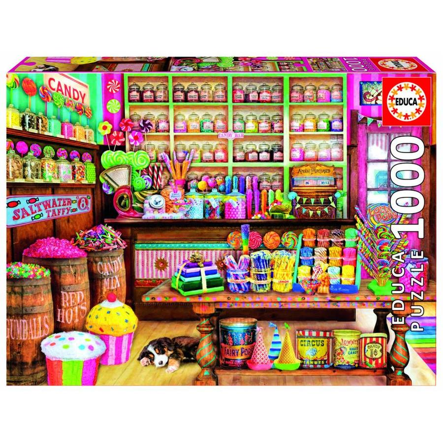 The Candy Shop - puzzle of 1000 pieces-2