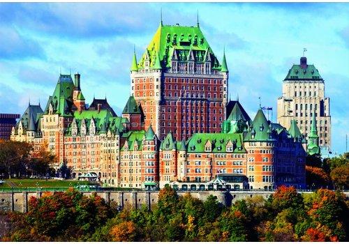 Kasteel Frontenac in Canada - 1000 stukjes