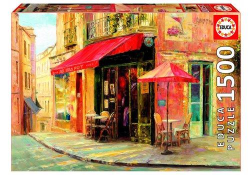 Hillside Cafe - Haixa Liu - 1500 stukjes