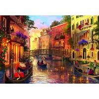 thumb-Zonsondergang in Venetië - puzzel van 1500 stukjes-2