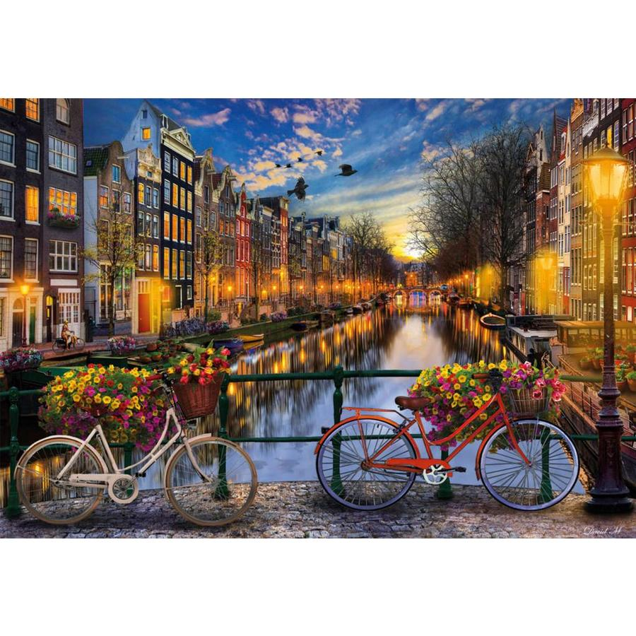 De avond in Amsterdam - 2000 stukjes-2