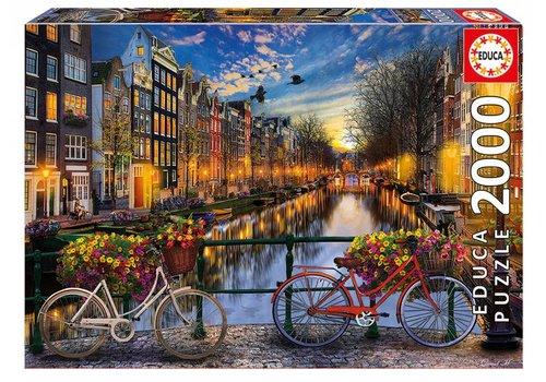 Educa La soirée à Amsterdam - 2000 pièces