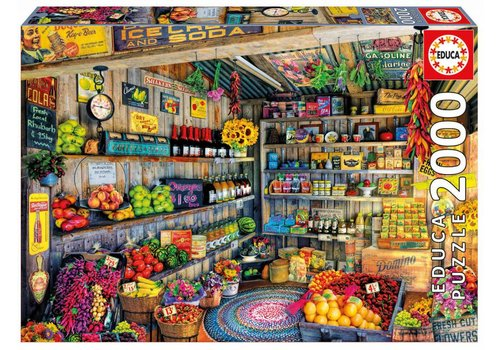 At the grocery store - 2000 pieces