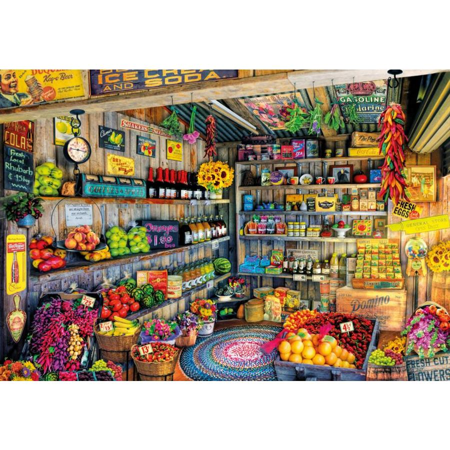 À l'épicerie - puzzle de 2000 pièces-2