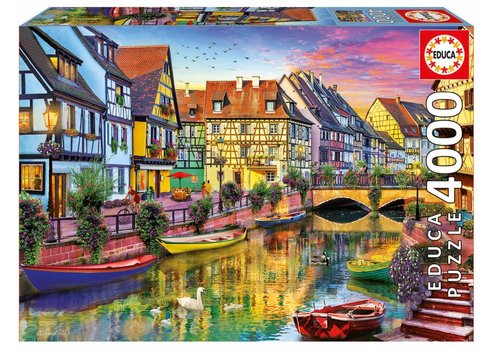 The Canal of Colmar - 4000 pieces