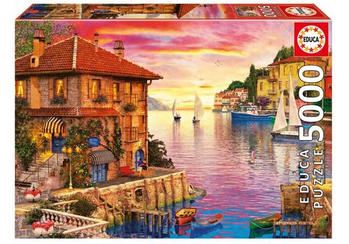 The port of the Mediterranean - 5000 pieces