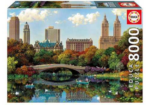 Bow Bridge in Central Park, New York - 8000 pieces