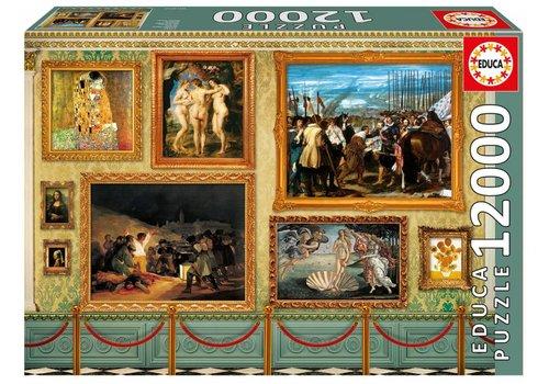 Museum Meesterwerken  - 12000 stukjes
