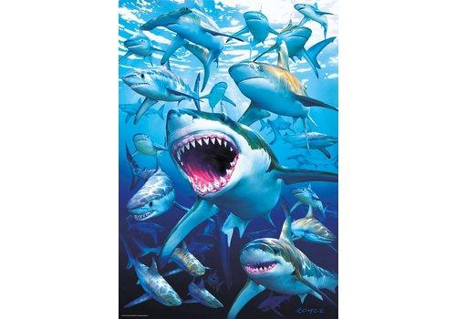 Haaien! - 500 stukjes