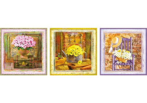 Bloemenpracht - Deco - 3 x 500 stukjes