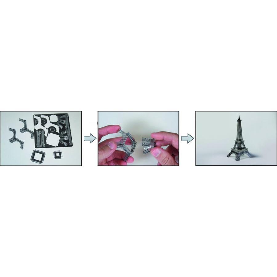 Silver Dragon - Iconx 3D puzzel-3