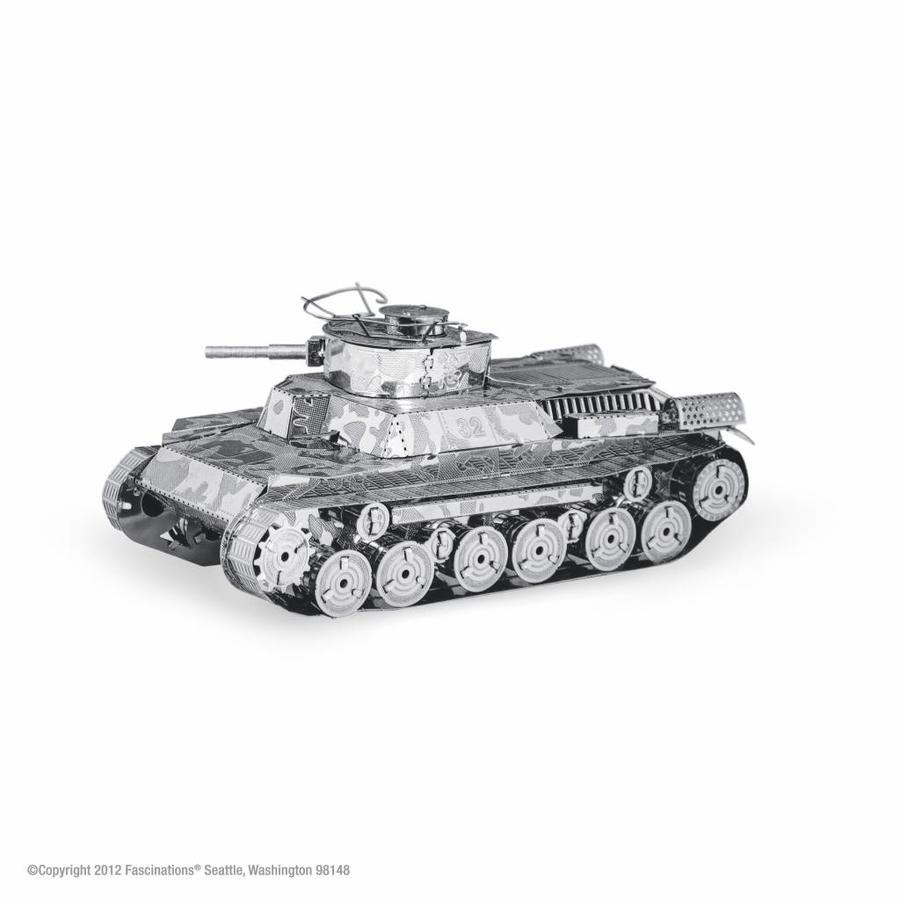 Chi-Ha Tank - 3D puzzel-1