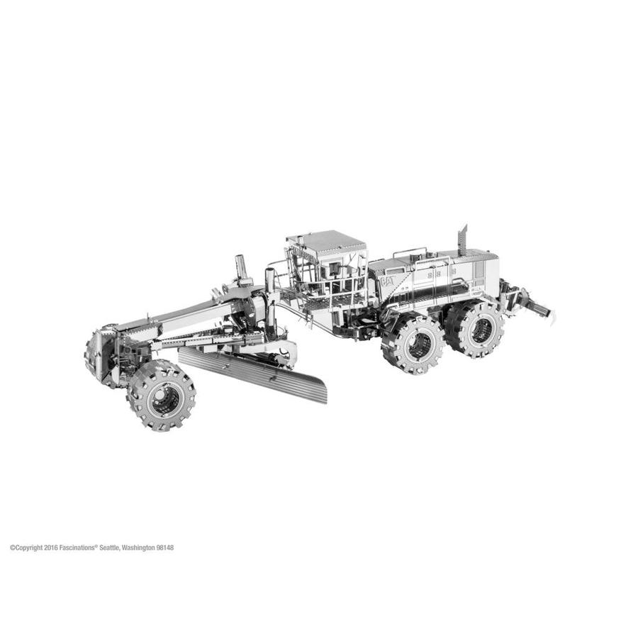 Motor Grader CAT - 3D puzzle-1