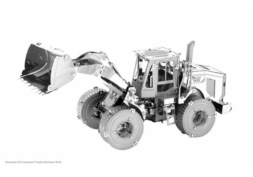 Wheel loader CAT - 3D puzzel