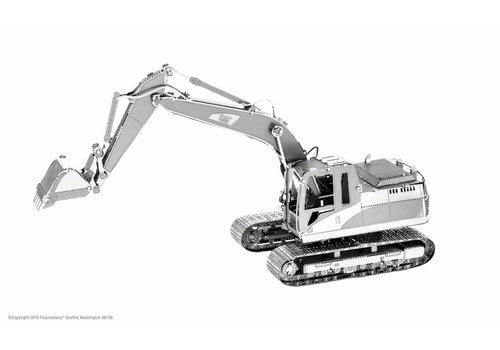 Excavator CAT - 3D puzzel