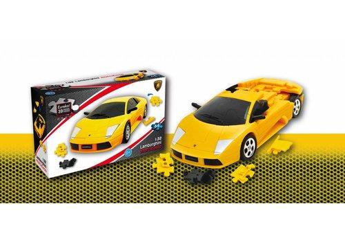 Lamborghini Murciélago **** - 3D puzzle car