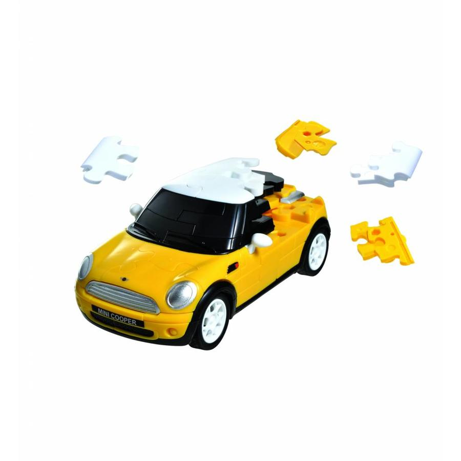 Mini Cooper**** - 3D puzzel auto-2