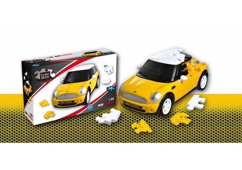 Eureka Mini Cooper**** - 3D puzzel auto