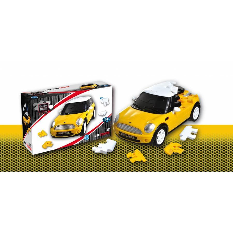 Mini Cooper**** - 3D puzzel auto-1