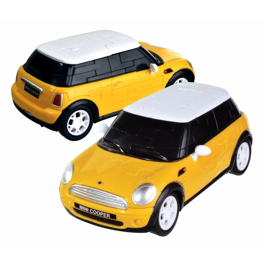 Mini Cooper**** - 3D puzzel auto-5