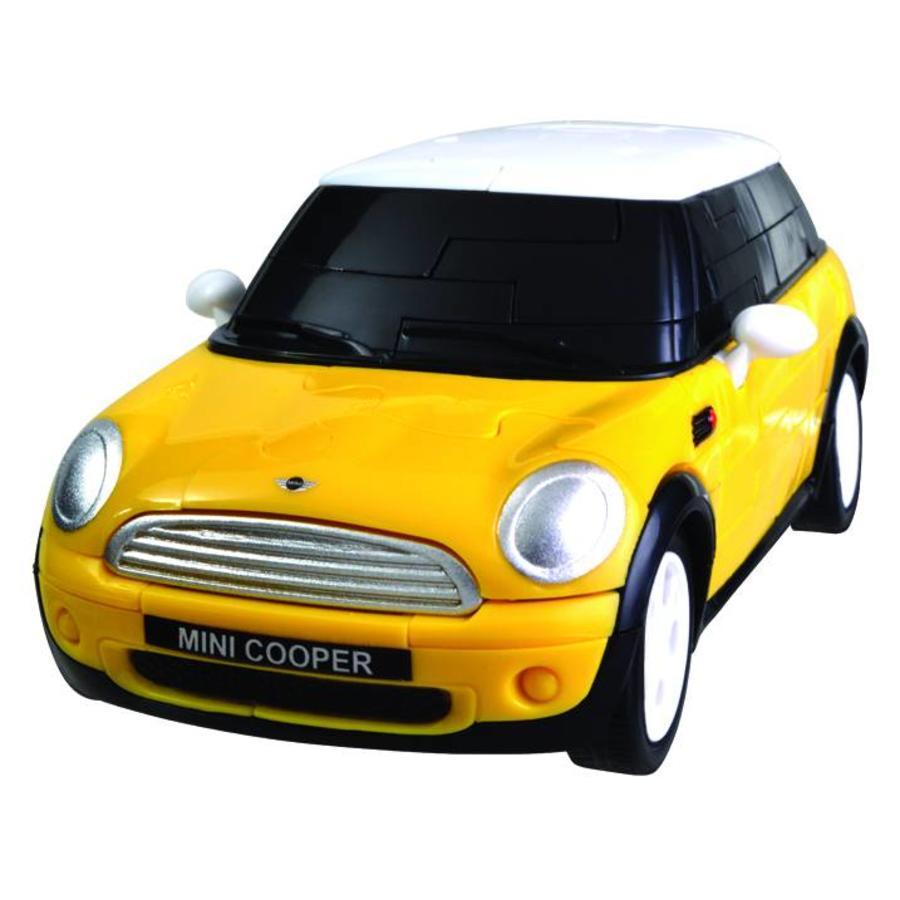 Mini Cooper**** - 3D puzzel auto-4