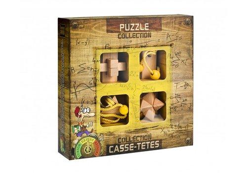 Expert** - 4 houten breinbrekers in doos
